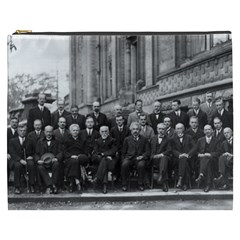 1927 Solvay Conference On Quantum Mechanics Cosmetic Bag (xxxl)  by thearts