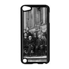 1927 Solvay Conference On Quantum Mechanics Apple Ipod Touch 5 Case (black) by thearts