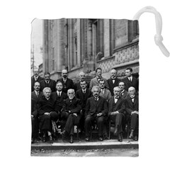 1927 Solvay Conference On Quantum Mechanics Drawstring Pouches (xxl) by thearts