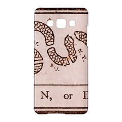 Original Design, Join Or Die, Benjamin Franklin Political Cartoon Samsung Galaxy A5 Hardshell Case  by thearts