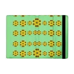Sun Flowers For The Soul At Peace Apple Ipad Mini Flip Case by pepitasart