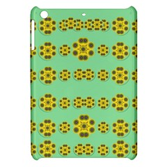 Sun Flowers For The Soul At Peace Apple Ipad Mini Hardshell Case by pepitasart