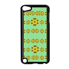 Sun Flowers For The Soul At Peace Apple Ipod Touch 5 Case (black) by pepitasart