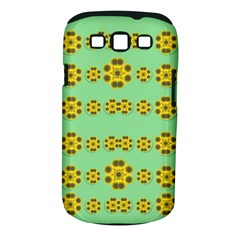 Sun Flowers For The Soul At Peace Samsung Galaxy S Iii Classic Hardshell Case (pc+silicone) by pepitasart