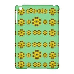 Sun Flowers For The Soul At Peace Apple Ipad Mini Hardshell Case (compatible With Smart Cover) by pepitasart