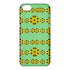 Sun Flowers For The Soul At Peace Apple Iphone 5c Hardshell Case by pepitasart
