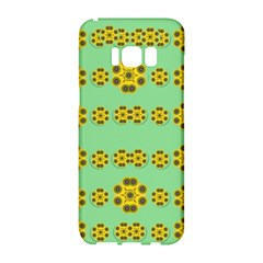 Sun Flowers For The Soul At Peace Samsung Galaxy S8 Hardshell Case  by pepitasart