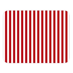 Red Stripes Double Sided Flano Blanket (large)  by jumpercat