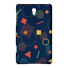Blue Background Backdrop Geometric Samsung Galaxy Tab S (8 4 ) Hardshell Case