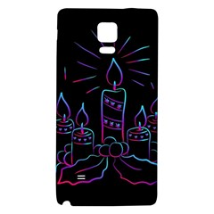 Advent Wreath Candles Advent Galaxy Note 4 Back Case