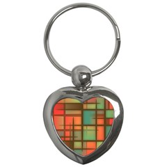 Background Abstract Colorful Key Chains (heart)  by Nexatart