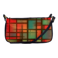Background Abstract Colorful Shoulder Clutch Bags