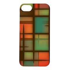 Background Abstract Colorful Apple Iphone 5s/ Se Hardshell Case