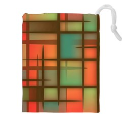 Background Abstract Colorful Drawstring Pouches (xxl) by Nexatart