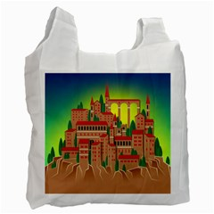 Mountain Village Mountain Village Recycle Bag (one Side)