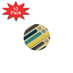 Background Vintage Desktop Color 1  Mini Buttons (10 Pack)