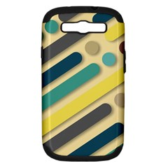 Background Vintage Desktop Color Samsung Galaxy S Iii Hardshell Case (pc+silicone) by Nexatart