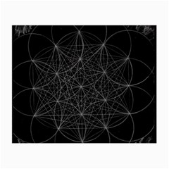 Sacred Geometry Music 144links Small Glasses Cloth by Cveti