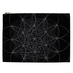 Sacred Geometry Music 144links Cosmetic Bag (xxl)  by Cveti