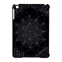 Sacred Geometry Music 144links Apple Ipad Mini Hardshell Case (compatible With Smart Cover) by Cveti
