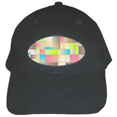Background Abstract Grid Black Cap by Nexatart