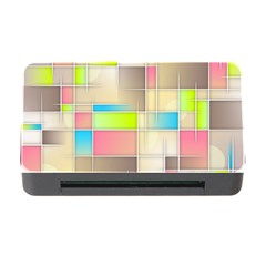 Background Abstract Grid Memory Card Reader With Cf