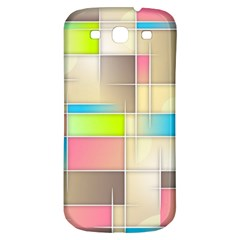 Background Abstract Grid Samsung Galaxy S3 S Iii Classic Hardshell Back Case