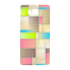 Background Abstract Grid Samsung Galaxy Alpha Hardshell Back Case