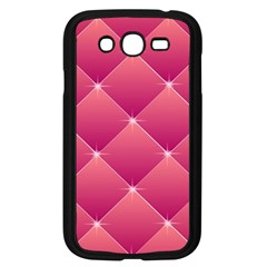Pink Background Geometric Design Samsung Galaxy Grand Duos I9082 Case (black)