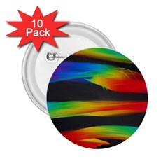 Colorful Background 2 25  Buttons (10 Pack)