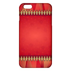Background Red Abstract Iphone 6 Plus/6s Plus Tpu Case by Nexatart