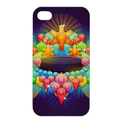 Badge Abstract Abstract Design Apple Iphone 4/4s Hardshell Case