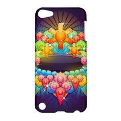 Badge Abstract Abstract Design Apple Ipod Touch 5 Hardshell Case