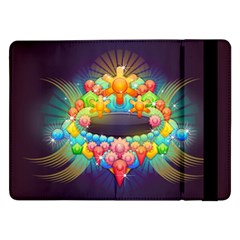 Badge Abstract Abstract Design Samsung Galaxy Tab Pro 12 2  Flip Case by Nexatart