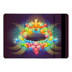 Badge Abstract Abstract Design Apple Ipad Pro 10 5   Flip Case