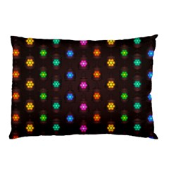 Lanterns Background Lamps Light Pillow Case