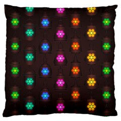 Lanterns Background Lamps Light Large Cushion Case (one Side)