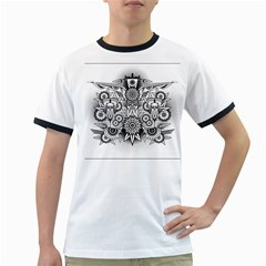 Forest Patrol Tribal Abstract Ringer T Shirts