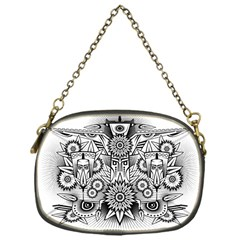 Forest Patrol Tribal Abstract Chain Purses (one Side)