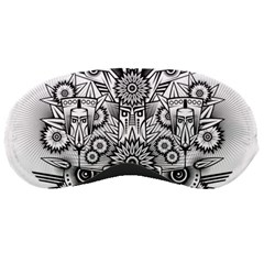 Forest Patrol Tribal Abstract Sleeping Masks by Nexatart