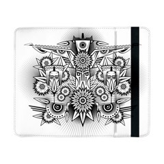 Forest Patrol Tribal Abstract Samsung Galaxy Tab Pro 8 4  Flip Case by Nexatart