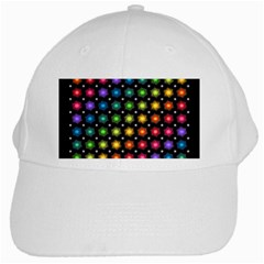 Background Colorful Geometric White Cap by Nexatart