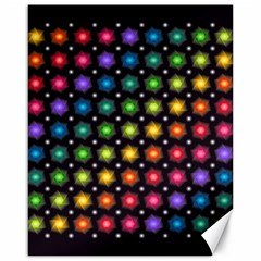 Background Colorful Geometric Canvas 16  X 20   by Nexatart