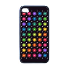 Background Colorful Geometric Apple Iphone 4 Case (black) by Nexatart