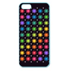 Background Colorful Geometric Apple Seamless Iphone 5 Case (color) by Nexatart