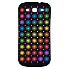 Background Colorful Geometric Samsung Galaxy S3 S Iii Classic Hardshell Back Case