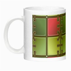 Seamless Pattern Seamless Design Night Luminous Mugs