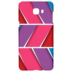 Abstract Background Colorful Samsung C9 Pro Hardshell Case