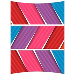 Abstract Background Colorful Back Support Cushion