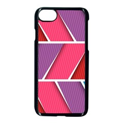 Abstract Background Colorful Apple Iphone 8 Seamless Case (black) by Nexatart